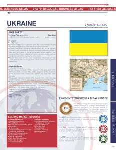 Ukraine - Proprietary Fi180 Country Profile - page 1 of 4