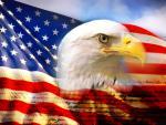 americanflagEagle